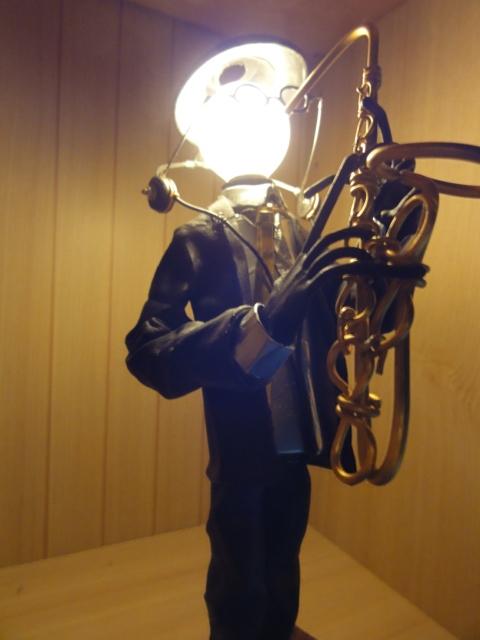 jazz・・・卓上ライト L sax 05