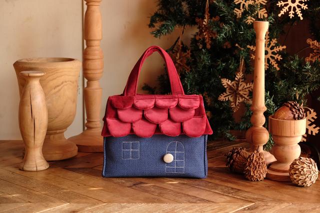 OUCHI box bag S  ムーミンカラー
