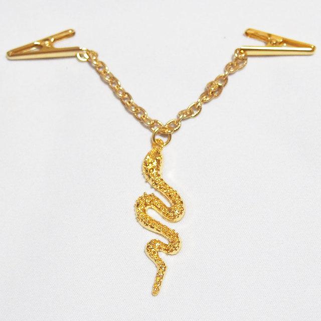 ストール飾り 薄手用 黄金の蛇 スネ...