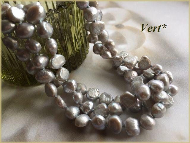 Vert* 【SV925】 ブルーシルバーグレー...