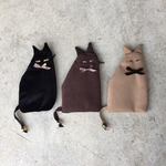cat pouch (brown )