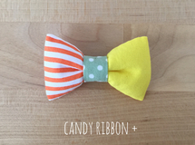 candy ribbon + ( lemon cake )