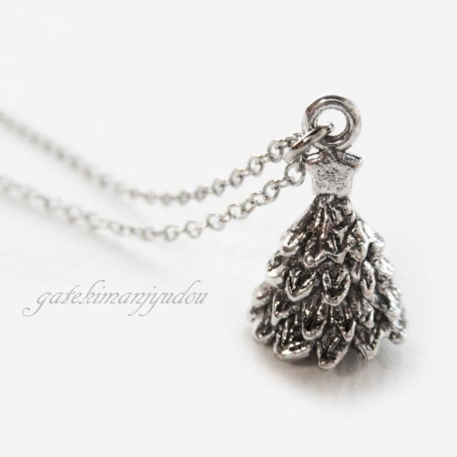 クリスマスツリーのネックレス【サイズ...