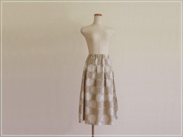 kinari* まるまる すっきりギャザースカート