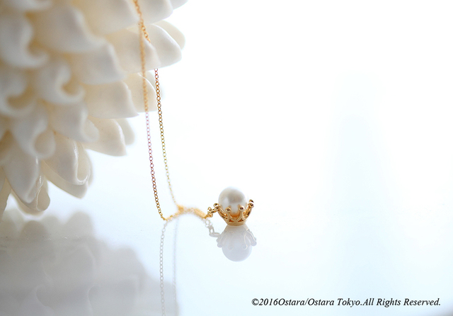 【14KGF】Necklace,16KGP Pearl