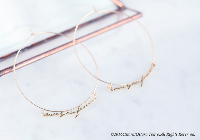 【14KGF】Hoop Earrings,