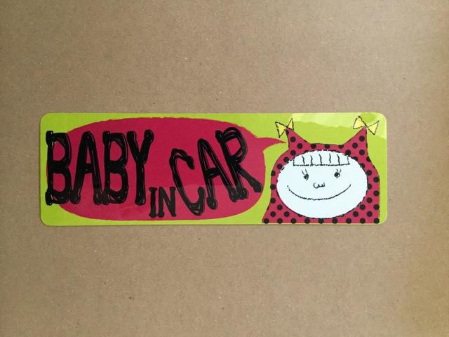 12月限定 在庫処分 女の子 『BABY in ca...