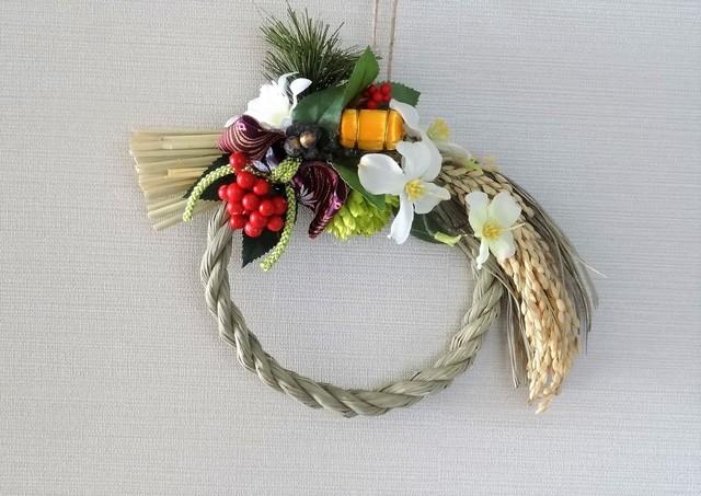 しめ飾り『花水木』