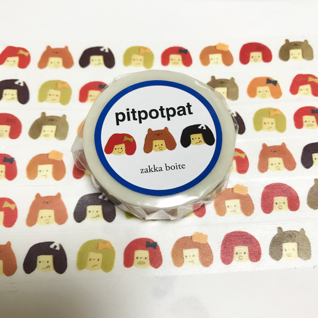 pitpotpat《kaochans》マスキングテープ