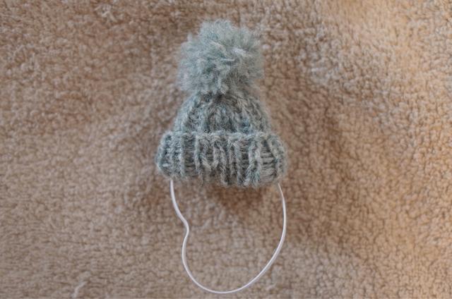 ハリネズミ用帽子◯杢グリーン