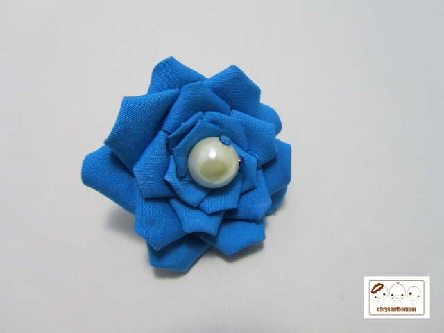 【NEW!】青いバラの指輪