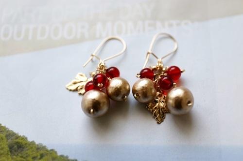 クリスマス (14kgf)金色と紅色が個性的...
