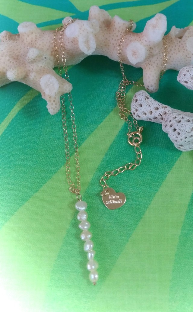 *14kgf* Moon Drop Necklace