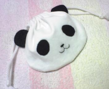 パンダちゃん巾着