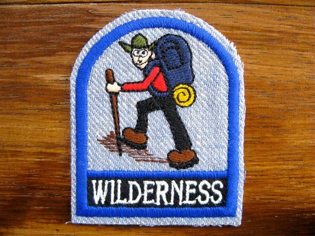 アウトドア Outdoor ウィルダネス 登山 刺繍ワッペン・パッチ