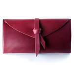 ori long wallet #Cocoa red / 折りロングウォレット ココアレッド