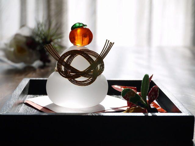 鏡餅Set (追羽根、折り鶴)今年のラスト