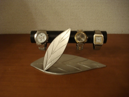 インテリア!!ダブルリーフ腕時計スタンド