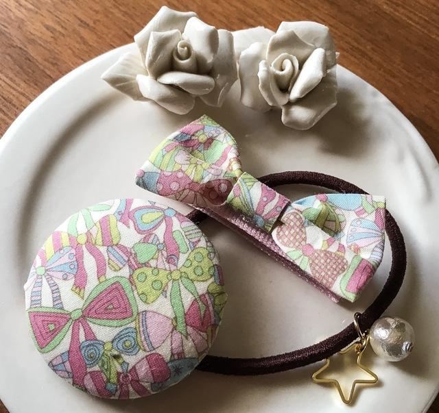 ママとお揃いリバティ☆ Jenny's Ribbon...
