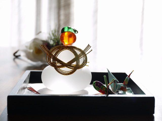 鏡餅Set (追羽根、折り鶴 II)今年の...