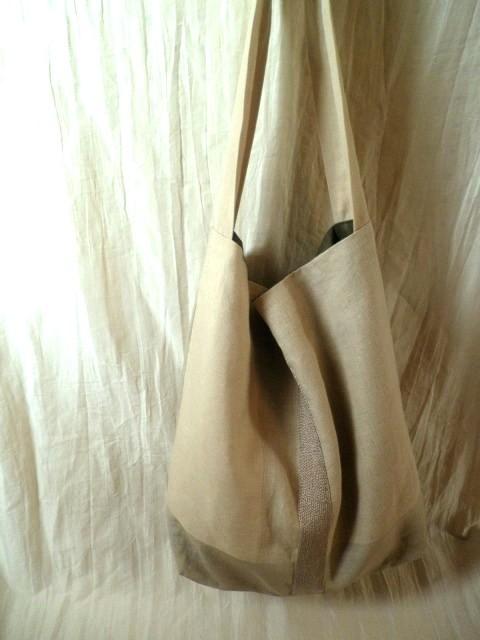 itoiro bag (beige&beige)