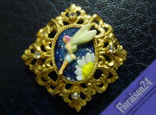 『マーガレットの妖精ブローチ』
