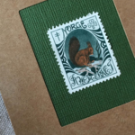 x'mas sealのartmuseum  NORWAY stamp