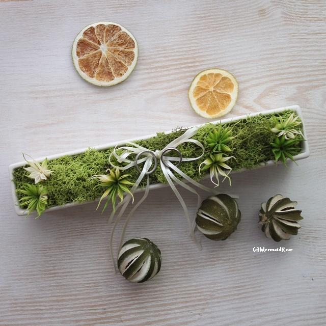 リングピローインテリアグリーンモス*