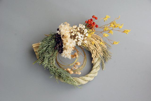 華やぎのお正月飾り__paille