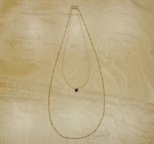 【14KGF】60〜80cmネックレス(きへい)