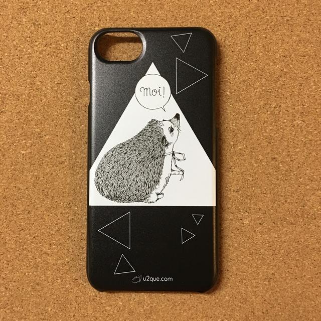 ハリネズミのiPhone7Plusケース『moi!ハ...