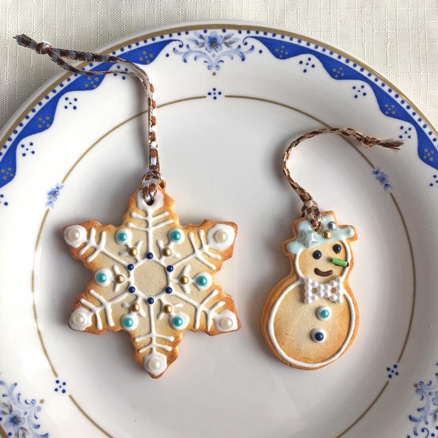 スノーフレーク&スノーマン クッキー...