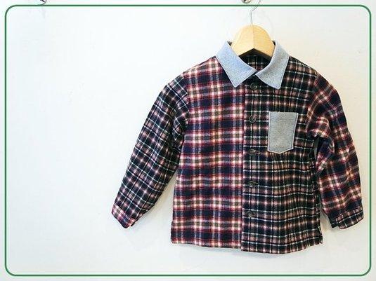 【110cm】ネルシャツ(クレイジーパター...