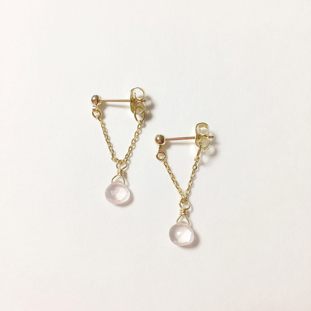 Earth Drop Earring「Love」