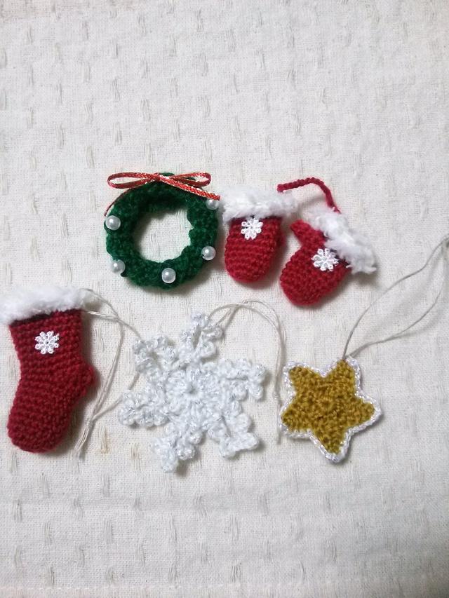 ☆クリスマスオーナメント5点セット☆