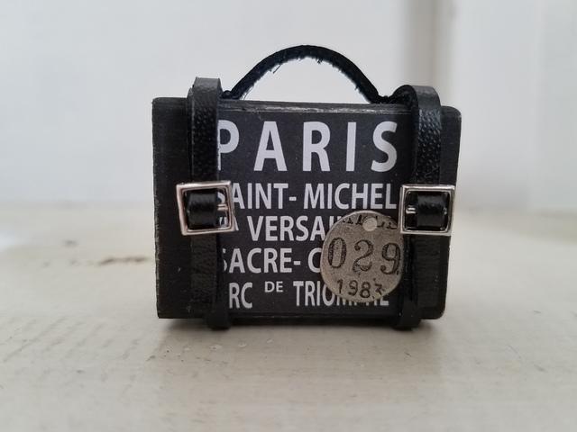 ミニトランク*PARIS*ブラック