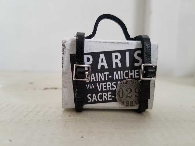 ミニトランク*PARIS*ホワイト