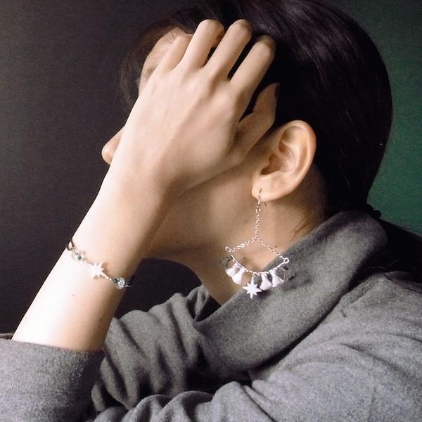 【輝星】のイヤリングorフープピアス&【...
