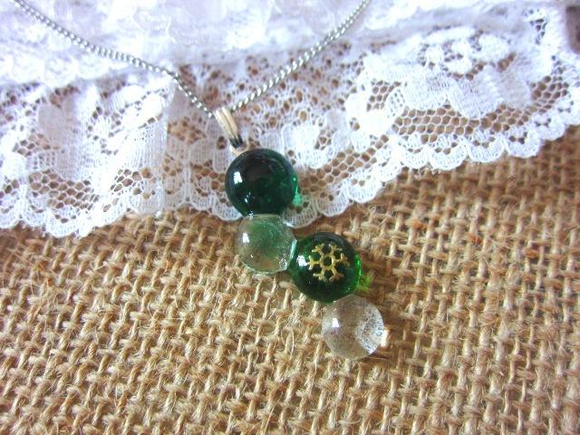 緑玉【ネックレス】