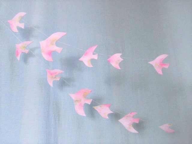 さくらの鳥のガーランド