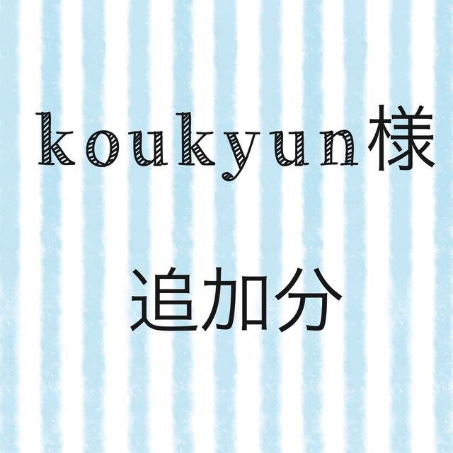 koukyun様 追加分ご注文分 特大巾着