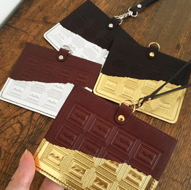 【M様お取り置き品】革のチョコレートI....