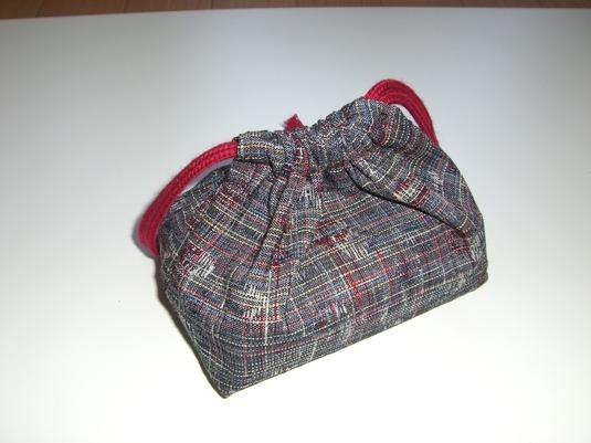 きもの地で作った小さな袋たち