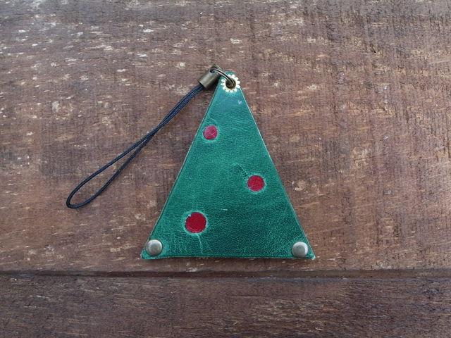 独特の質感が楽しい、クリスマスツリー...