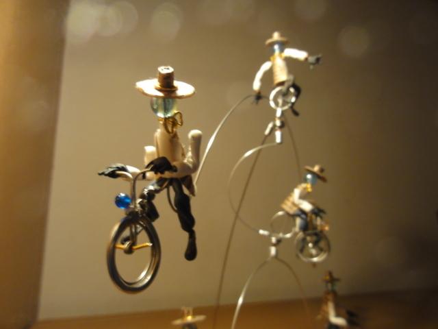 卓上モビール サイクリング 05
