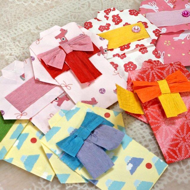 あばあちゃんの手作りポチ袋「ユカタ」