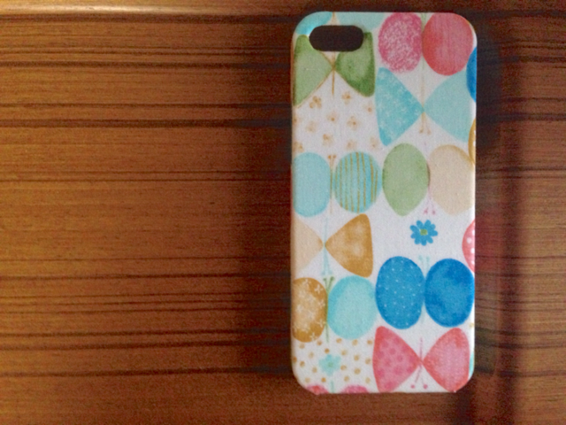 5/5s*リボンちょうちょ*iphone*カバー・スマホケース