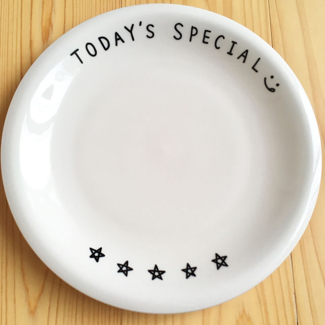 TODAY'S SPECIAL? 大皿プレート