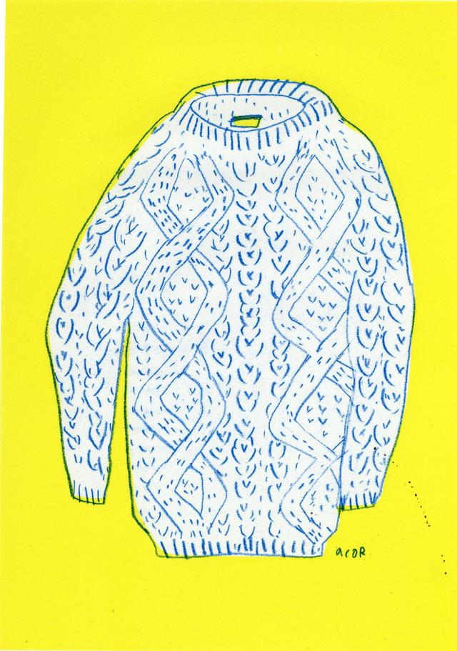 冬の便せん セーター 10枚セット
