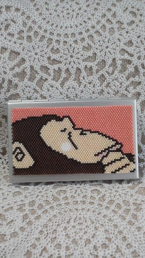 カードケース(チンパンジー)